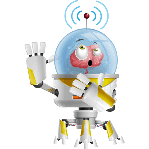 Os, the captain of HE Group, with an antenna on its head . This is its 7th Pose for HE Group Website, and you can find more info for Os itself in the team section.